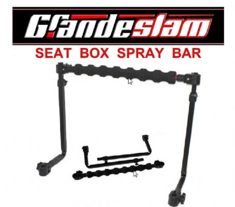 GRANDESLAM BOX FIT DELUXE Extending BUMP POLE SPRAY BAR System Seat Box Tackle
